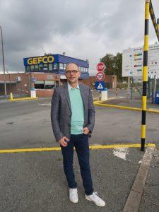 Etienne Rondeau de Renault à Gefco