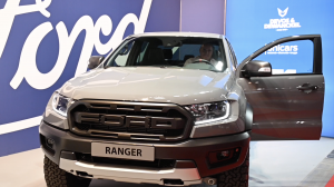[Matexpo video] Ranger Raptor als uithangbord van Ford stand