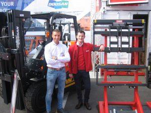 TVH op Matexpo: logistieke accessoires en hoogwerkers in de kijker