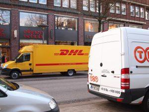 """Studie: """"Aandeel pakjesdiensten in congestie steden is marginaal"""""""