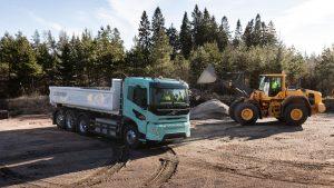 Volvo Trucks électrifie aussi les chantiers