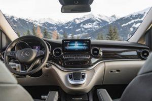 Vanaf januari MBUX-multimedia- systeem voor de Mercedes V-Klasse