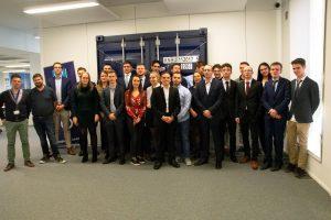 UCLL gagne le TL Hub Business Game chez Kuehne + Nagel