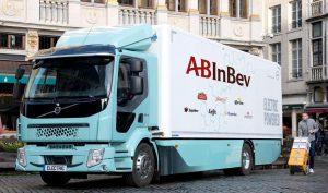 AB Inbev bestelt een Volvo FE Electric