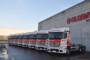 Neuf Mercedes Actros pour Gilgemyn Recycling