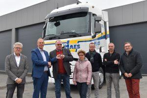 100ste Renault Trucks voor Vervoerbedrijf Norbert Maes