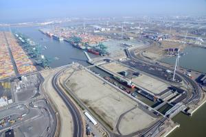 Hogere capaciteit voor het containervervoer in Antwerpen