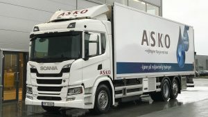 Scania test vier waterstoftrucks in Noorwegen