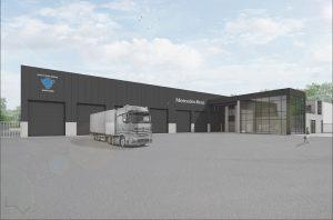 Auto & Truck Service VDC bouwt een nieuwe garage in Hoogstraten