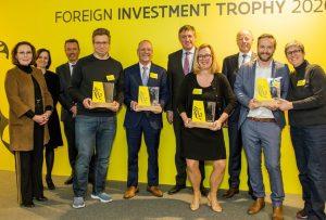 Barry Callebaut et Nike remportent le 'Foreign Investment Trophy'