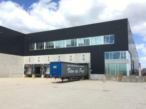 Nouveau centre de distribution pour Remy à Herentals