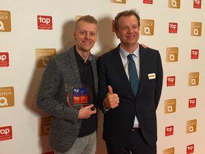 DHL Global Forwarding Belgium Top Employer 2020