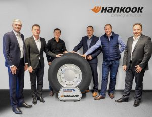 Hankook et Schmitz Cargobull prolongent leur alliance stratégique