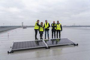 Heylen Warehouses construit un toit en panneaux solaires de 12,6 ha