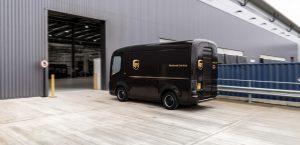 UPS commande 10.000 camionnettes électriques Arrival