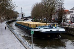 L'élargissement de l'Escaut à Tournai inauguré